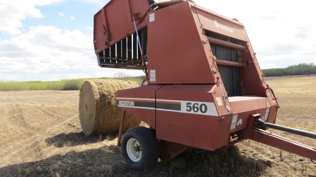 Hesston 540 Hay baler Manual updates